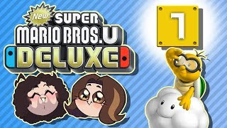 Super Mario Bros U Deluxe: The Cloud - PART 7 - Game Grumps