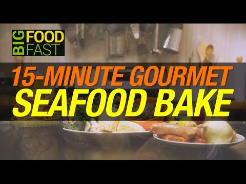 The Most Sensual Gourmet Seafood Bake In No Time | Big Food Fast