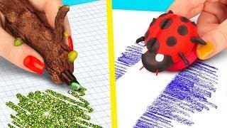 10 حيل لألعاب الربيع بأدوات مدرسية / أفكاروابتكارات للمدرسة