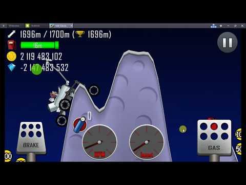 HILL CLIMB RACING: Moonlander on moon | fully maxed |