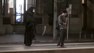 Grim Reaper DEATH Scare Prank