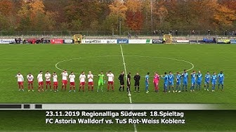 FC Astoria Walldorf vs. TuS Rot-Weiss Koblenz