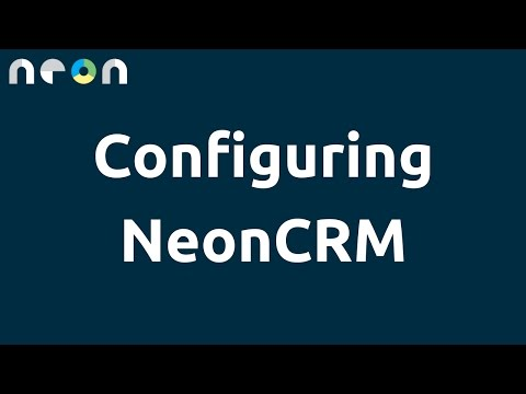 Configuring NeonCRM