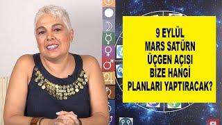 9 Eylül Mars Satürn Üçgen Açısı Bize Hangi Planları Yaptıracak? #astroloji