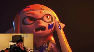 SPLATOON IN SUPER SMASH BROS REACTION!!!
