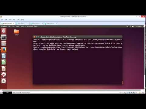 Running Wordcount on Hadoop multi node cluster