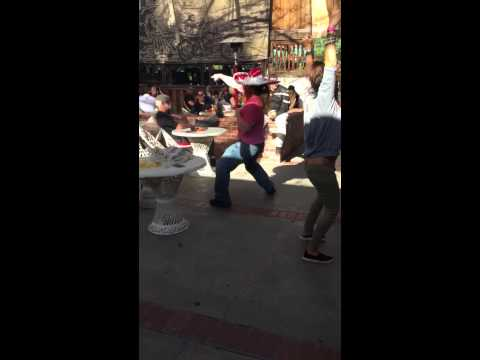 Hangover Guy Jeremy Blaine Dances  Uptown Funk with Sombrero