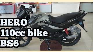 Hero 110 cc bike bs6 Passion pro walk around videos