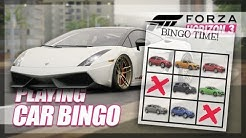 Forza Horizon 3 - Bingo with Cars! (Mini Games & Random Fun)