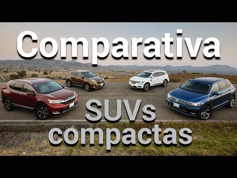 Honda CR-V vs Volkswagen Tiguan vs KIA Sportage vs Renault Koleos Comparativa | Autocosmos
