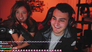 Foki Moments | Lily Impersonates Moe's Laugh | Curious Jaime | Topic On ASMR