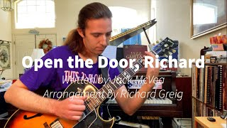 Open the Door, Richard - arrangement by Richard Greig