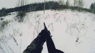Охота на зайца. Закрытие сезона 2017