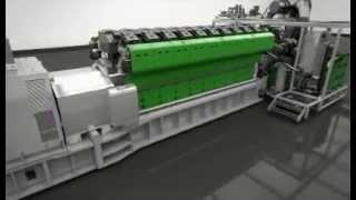 Gas Engine Jenbacher J920 - New Power Generation Technology