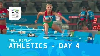 Athletics - Day 4 | Full Replay | Nanjing 2014 Youth Olympic Games
