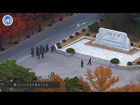 드라마틱한 북한군 탈북 실제상황 풀영상