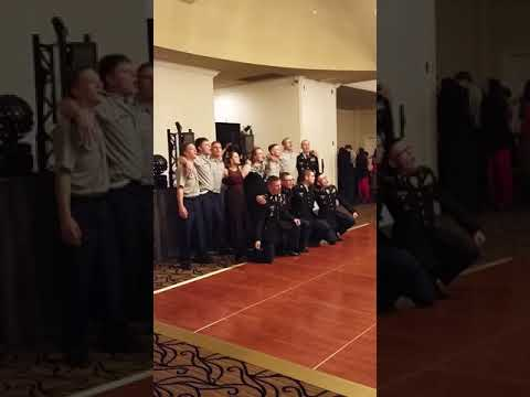 Central Hardin JROTC Military ball end song with the seniors