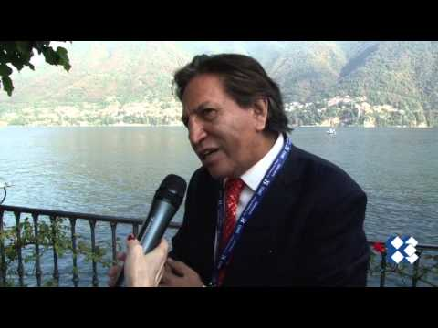 Alejandro Toledo - a view in ONE minute, at 2013 Forum