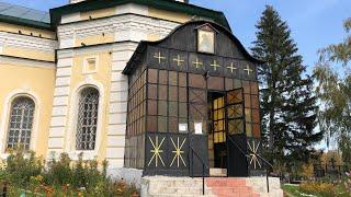В России было тепло до глобального похолодания! Старая церковь без утепления и обогрева