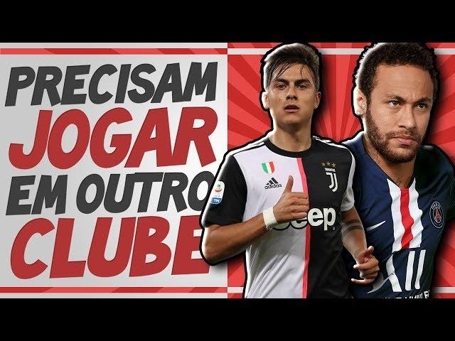 14 Grandes jogadores que PRECISAM MUDAR DE TIME nessa temporada - Transferências 2019
