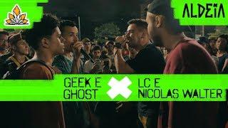 Nicolas Walter e LC x Ghost e Geek   SEGUNDA FASE   135ª Batalha da Aldeia   Barueri   SP