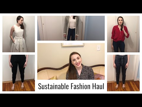 Sustainable Fashion New In Haul | Amour Vert, ADAY, Reformation, People Tree, Leze the Label