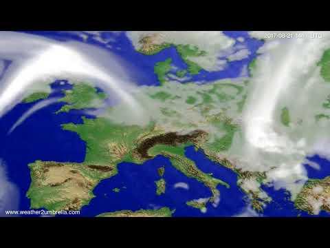 Cloud forecast Europe 2017-08-17