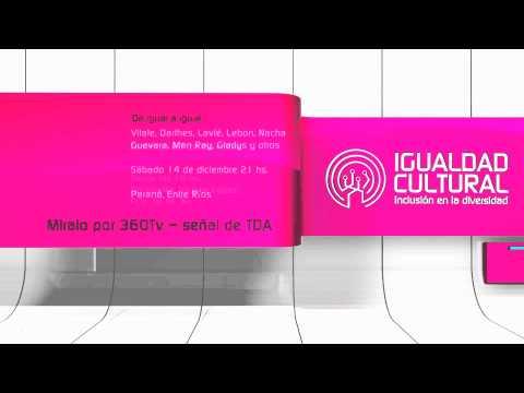 Igualdad Cultural te presenta un nutrido calendario