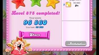 Candy Crush Saga Level 875     ★★★   NO BOOSTER
