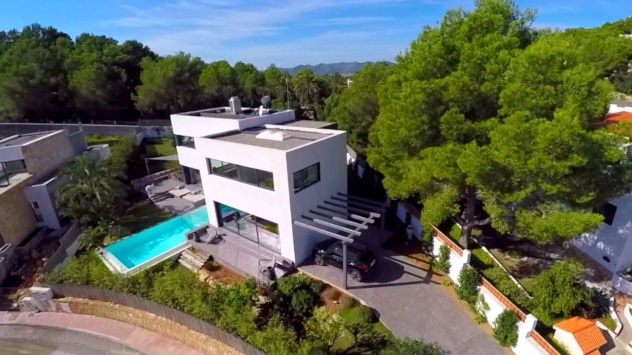 aerial tour of luxury ibiza villa can mono  youtube. aerial tour of luxury ibiza villa can mono