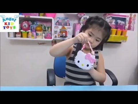 Đồ chơi trẻ em Bộ khéo tay Trang sức Hello Kitty Jewelry Playset