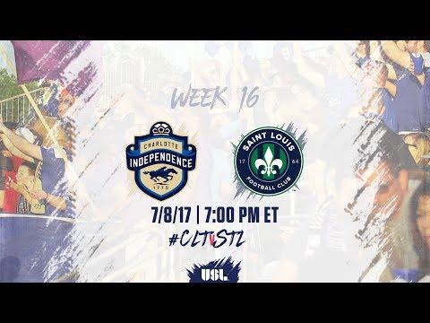 USL LIVE - Charlotte Independence vs Saint Louis FC 7/8/17