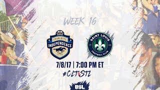 Charlotte Independence vs St. Louis full match