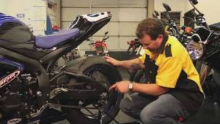 How to Adjust a Motorcycle Chain | Motorcycles