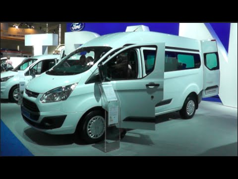 Ford Transit Custom Bus 2015 In detail review walkaround Interior Exterior