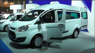 Ford Transit Custom Bus 2015 In detail review walkaround Interior Exterior