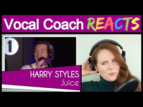Vocal Coach reacts to Harry Styles - Juice (Lizzo cover) in the Live Lounge