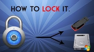 How to lock pen drive with password