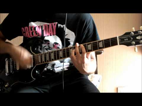Green Day American Idiot Guitar Cover How to play TAB