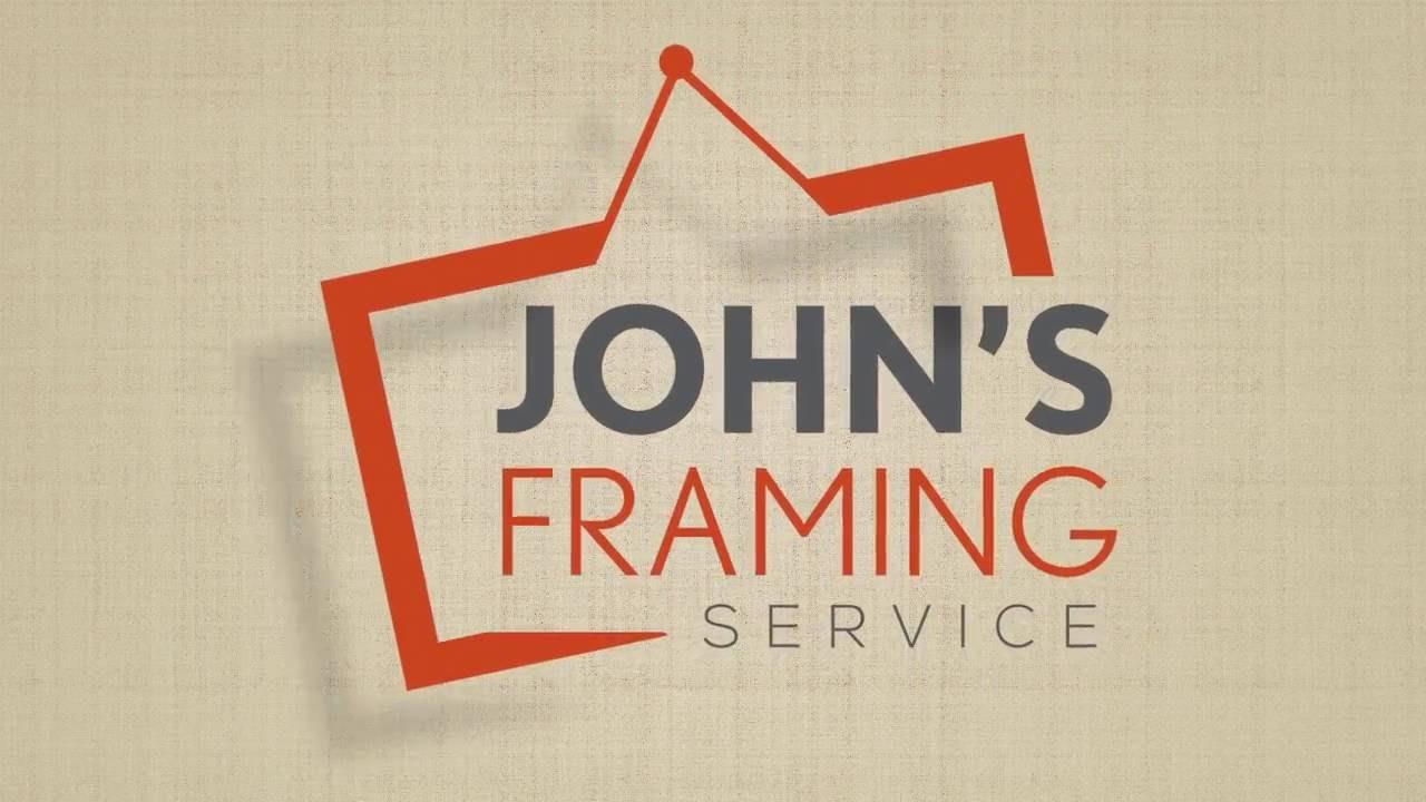 John\'s Framing Service Derby - YouTube
