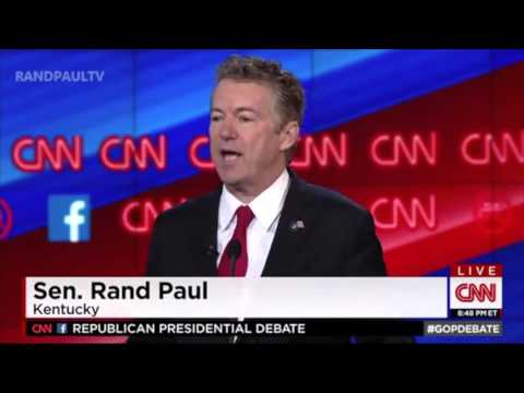 Rand Paul Opening Statement on Trump and Rubio |  Republican Debate