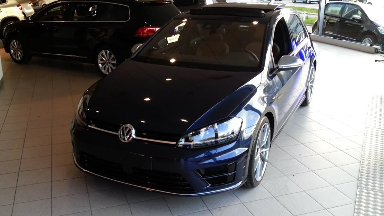 volkswagen golf 7 r 2015 in depth review interior exterior. Black Bedroom Furniture Sets. Home Design Ideas