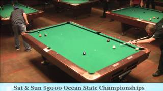 Earl Strickland vs Jayson Shaw 25th Annual Ocean State 9-Ball Championship