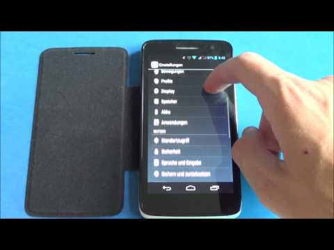 Alcatel One Touch Scribe HD - Screenshot & hard reset