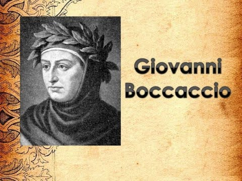 The life and works of giovanni boccaccio