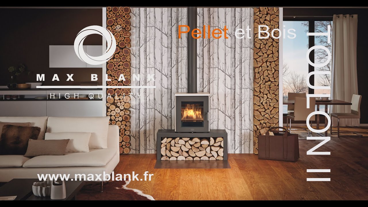 max blank toulon ii pellet fr youtube. Black Bedroom Furniture Sets. Home Design Ideas