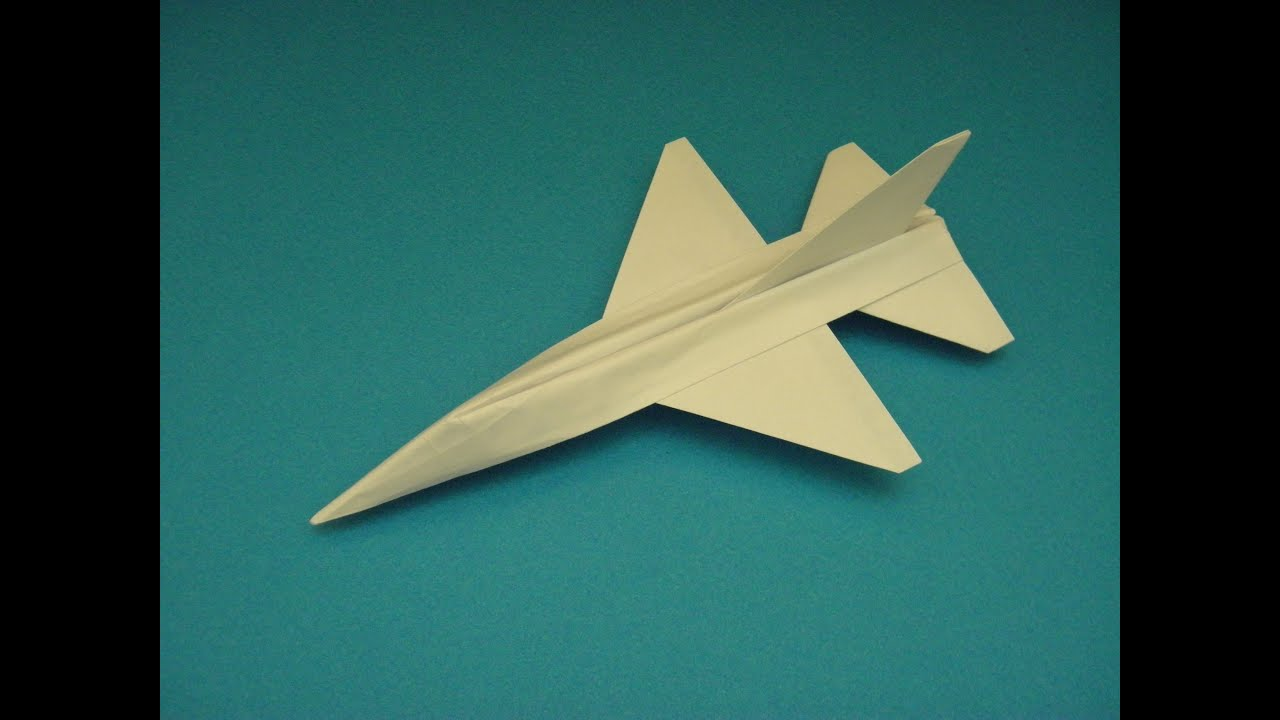how to add ailerons to paper airplane