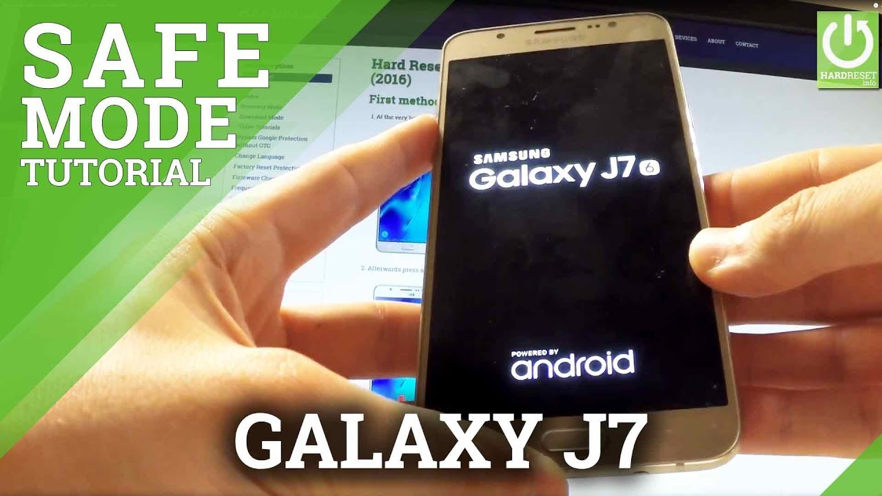 how to enter safe mode on samsung galaxy j7 quit safe mode