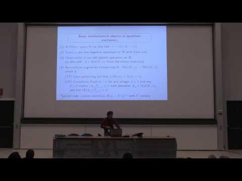 Geometry on the set of quantum states and quantum correlations Dominique Spehner