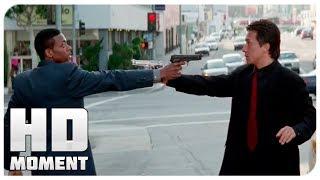 Ли сбегает от Картера - Час пик (1998) - Момент из фильма
